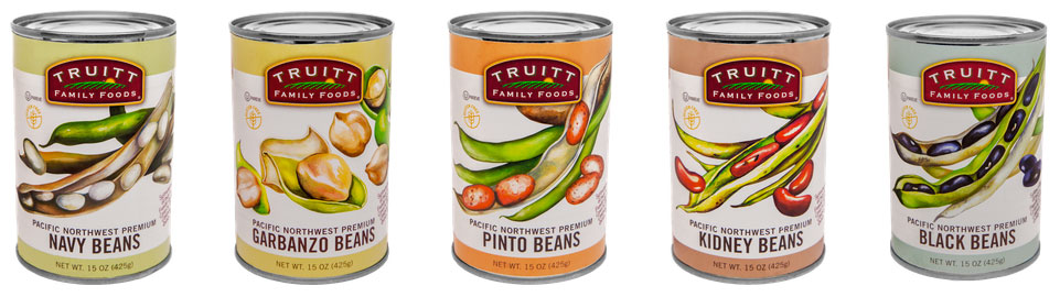 Truitt Family Foods canned beans