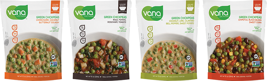 Vana Life Foods Packaging
